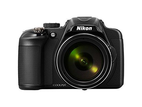 Nikon Coolpix P600 - Cámara compacta de 16.1 MP (Pantalla de 3', Zoom óptico 60x, estabilizador Digital, vídeo Full HD), Negro