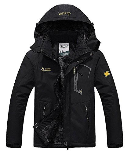 Pooluly Men's Waterproof Windproof
