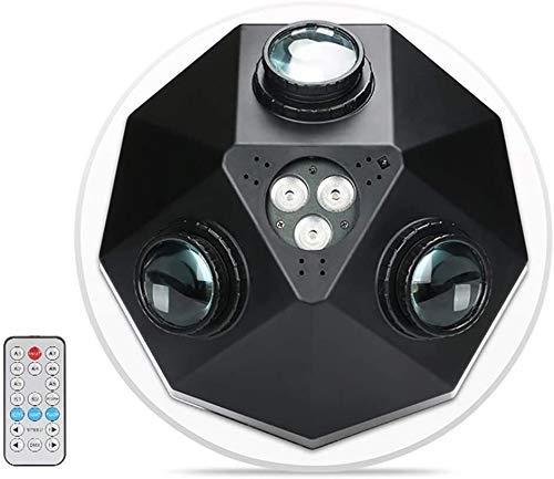 Party Bühnenbeleuchtung LED-Disco-Licht RBGW Lichteffekt DJ mit Fernbedienung Rotating for Weihnachten, Bar, Party, Club Car (Größe: B) ANGANG (Size : B)