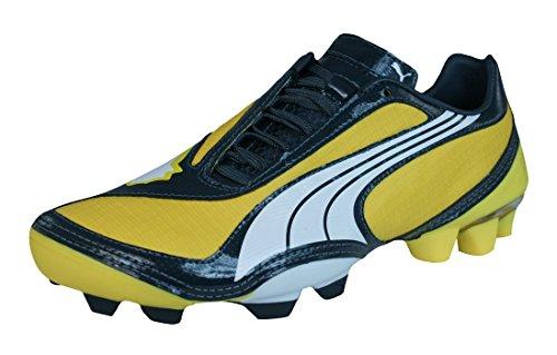PUMA V1.08 FG Jungen Fußballschuhe-Yellow-37