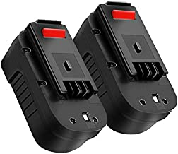 2Pack HPB18 3.6Ah 18V Replacement for Black and Decker Battery, Battery for B&D HPB18-OPE 244760-00 A1718 FSB18 FEB180S A18 FS18FL