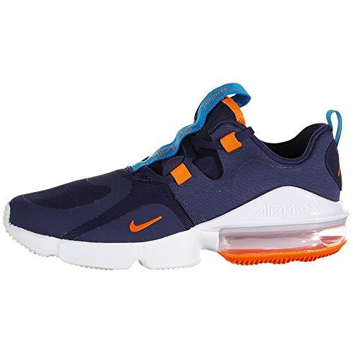 Nike Air MAX Infinity (GS), Zapatillas Unisex Niños, Midnight Navy/Hyper Crimson/La, 24 EU
