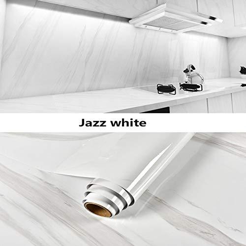 LZYMLG Película de vinilo de mármol Autoadhesivo Papel pintado impermeable para baño Cocina Armario Encimeras Papel de contacto Pvc Pegatinas de pared yo