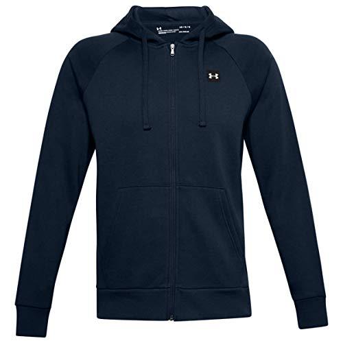 Under Armour Big Logo SS, Komfortables Kurzarmshirt, atmungsaktives Sportshirt für Herren Herren, Red / Black, L