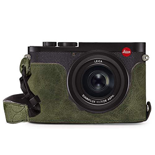 MegaGear Ever Ready 本革カメラハーフケース Leica Q2対応