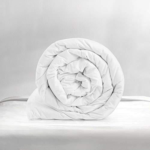 Yorkshire Bedding Anti Allergy Summer Duvet 4.5 Tog Light Weight UK Made Soft Quilt Classic Hollow Fibre All Seasons
