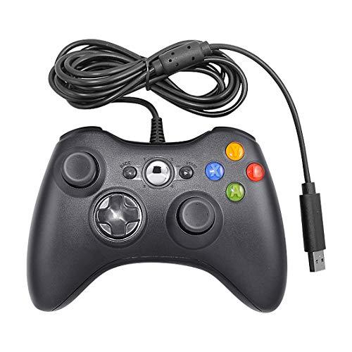 Laelr Xbox 360 Controller, USB Wired Game Controller Gamepad Ergonomic Gaming Joystick...