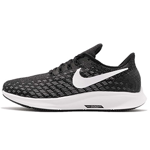 Nike Wmns Air Zoom Pegasus 35, Zapatillas de Running Unisex Adulto, Negro (Black/White/Gunsmoke/Oil Grey 001), 44.5 EU