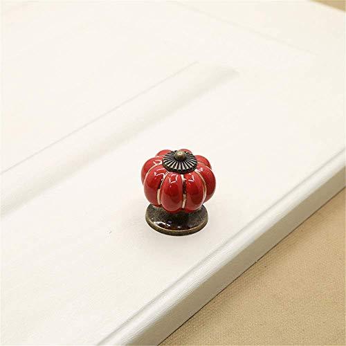 Handvat van de deur Retro Landelijke pastorale stijl kabinet Kast Dresser Closet Kids' Room Drawer Pull Handles Set / 10st Keramische Knoppen Geschikt for woonhuis, offi Door handle