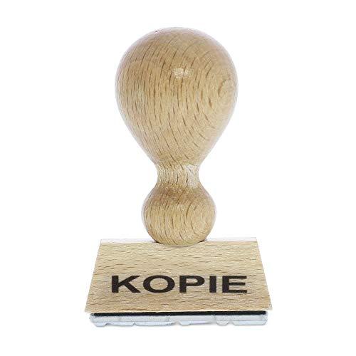 Holzstempel KOPIE (40x10 mm - 1 Zeile)