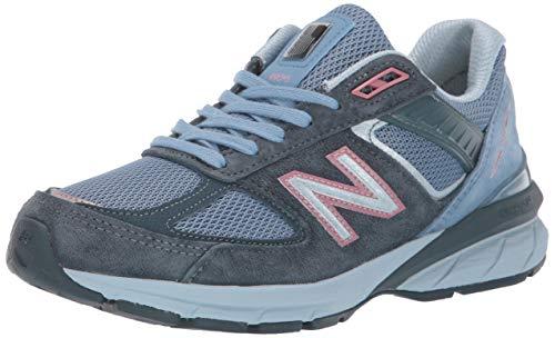 New Balance Women's Made 990 V5 Sneaker, Orion Blue/Lynx Blue, 5 B US
