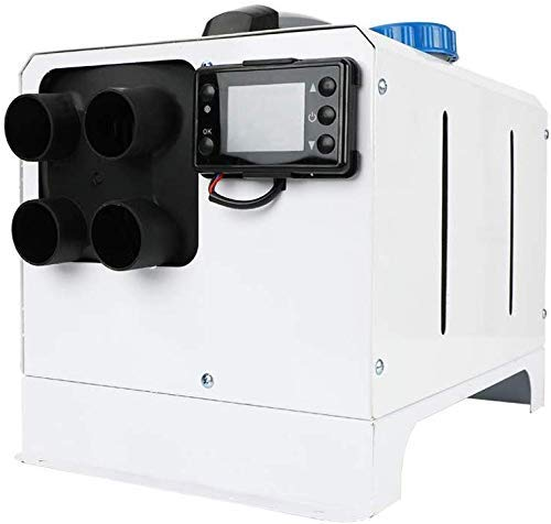 Rindasr Calentador, 5 kW 12V portátil coche calentador de aire diesel calefacción de estacionamiento calentador for camión, barco, remolque del coche, del coche que viaja, autocaravanas, autocaravanas