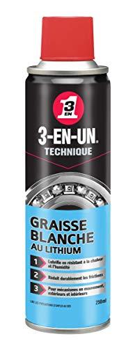 WD 40 Company WD017 - 017 Grasa de litio 3-en-uno 250 ml...