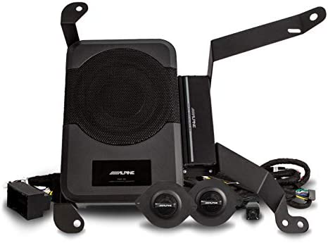 Alpine Electronics PSS 23WRA Powered Sound System Upgrade for 2018 Up 4 Door Jeep Wrangler JL product image