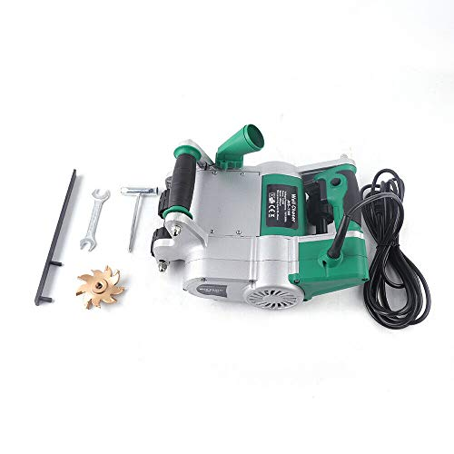 Ranuradora Eléctrica de Pared de Ladrillo de 30 mm, Cortadora de Pared Eléctrica, Máquina de Ranura de Pared 1100W