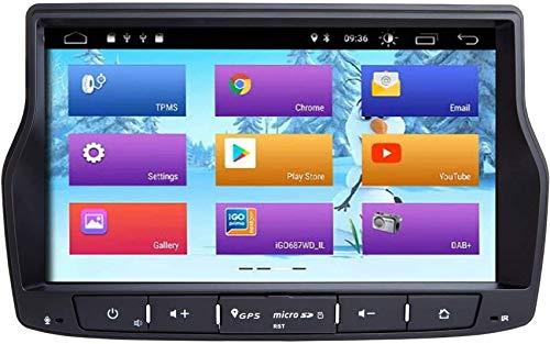 FACAIA Radio de Coche Android 9.0 Compatible con Lada Vesta Car Stereo GPS en el Tablero con WiFi OBD Control del Volante
