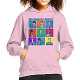 Pan Am Flight Crew Kid's Hooded Sweatshirt