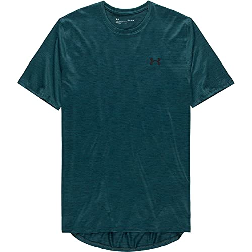 Under Armour Training Vent 2.0 Short Sleeve T-Shirt, Dark Cyan (463)/Black, X-Small