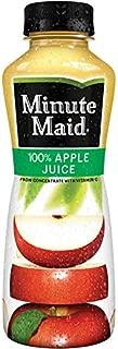 Minute Maid Apple Juice 12 oz Plastic Bottles - Pack of 24