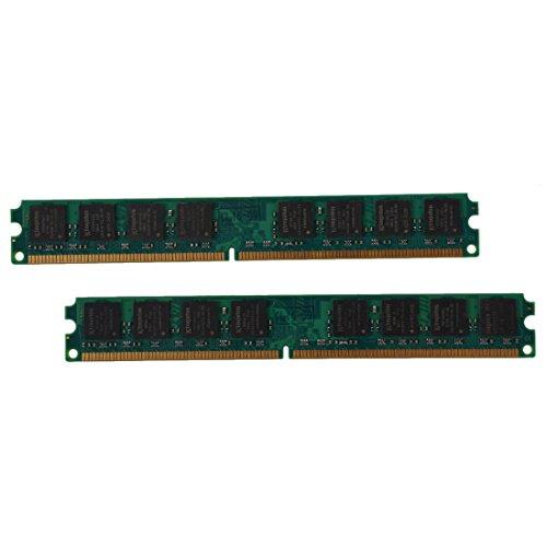TOOGOO 2x 1GB DDR2 533 MHZ PC2 4200 240 PINS DIMM cuadernos memoria