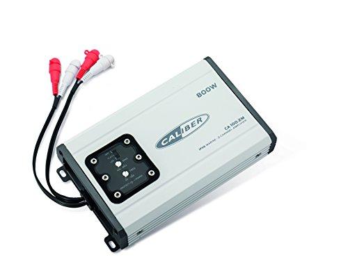Caliber ca100.2m–2de canal compacto Amplificador/amplificador para Marino/Barco/yate–Agua Best integrado IPX6–A Los Rayos Ultravioleta–Sal Best integrado–2x 100W RMS