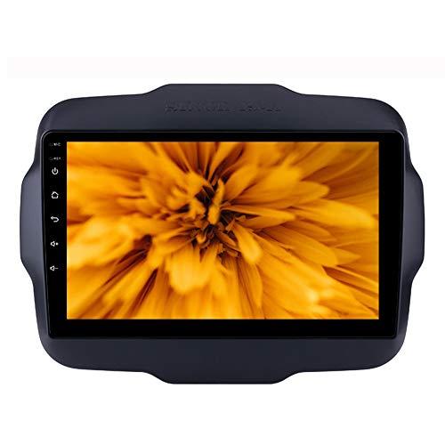 Foof Per Jeep Renegade 9 Pollice Auto GPS Navigazione Stereo in Dash Radio per Schermo 16 / 32GB Rom Bluetooth Radio Stereo Navigazione GPS (Quad Core),WiFi 1g+16g