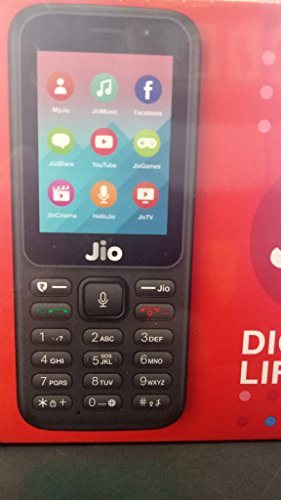 Jio phone Jio Mobile (Digital Life) F90M (Black)