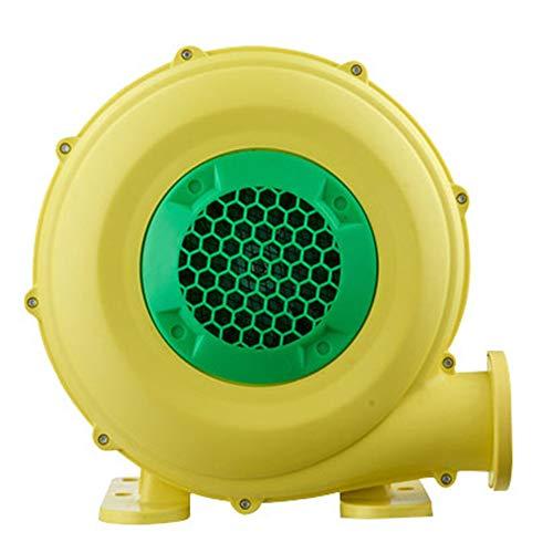 EastMetal Ventilador Eléctrico Escape Polvo Pequeño, Ventilador Centrífugo Inflable 480W, Bomba Sopladora, Secador de Pelo Inflable, Preservativo, IPX4, 220 V, 21m³ / min
