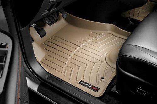 WeatherTech Custom Fit Front FloorLiner for Volkswagen Beetle, Tan