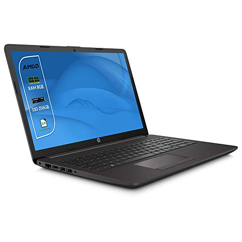 "HP 255 G7 Ordenador portátil 15.6"" HD A4 9125, 8GB RAM, 256 GB SSD M.2, Radeon R3 Graphics, Windows 10 Professional, HDMI,- Teclado QWERTY Italiano Notebook"