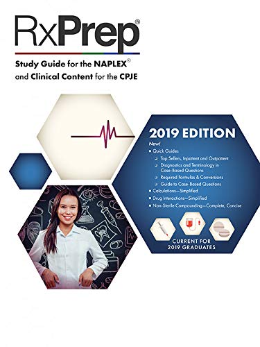 RxPrep's 2019 Course Book for pharmacist licensure exam preparation