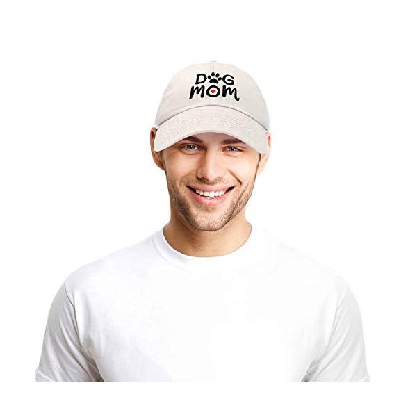 DALIX Dog Mom Baseball Cap Women's Hats Dad Hat