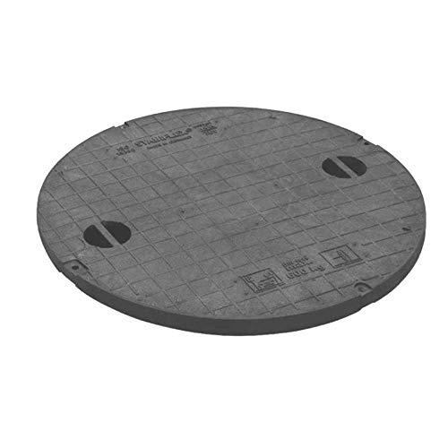 STABIFLEX Abdeckung SOLO 648-600kg Typ1 (mit Griffmulden), Kanaldeckel, Schachtabdeckung, Zisternendeckel, Kunststoff leicht, Abdeckung Zisterne