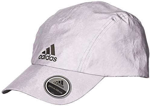 adidas R96 REF Cap Chapeau Reflective Silver/Black FR : L (Taille Fabricant : OSFY)