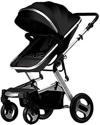 Cochecito de viaje de bebé liviano portátil para el recién nacido para niños pequeños altiplano de bebé altiplor de bebé puede sentarse un amortiguador de cuatro ruedas y amortiguador doblado baby bab