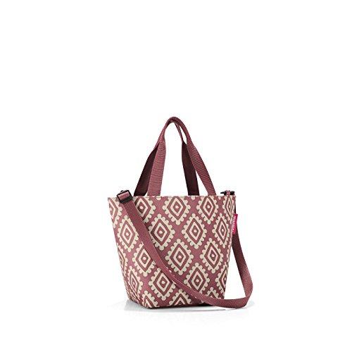 reisenthel shopper XS printed diamonds rouge Maße: 31 x 21 x 16 cm / Volumen: 4 l