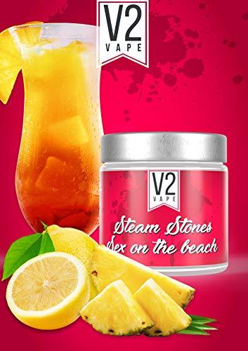 V2 Vape Shisha Steine Sex on the Beach - Steam Stones Dampfsteine 250gr 0mg nikotinfrei
