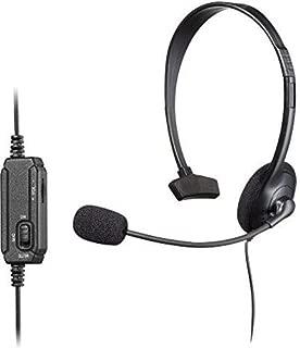 Snakebyte SB908538 Monoaural Diadema Negro Auricular con micrófono - Auriculares con micrófono (PC/Juegos, Monoaural, Diadema, Negro, Playstation 4, Sony DualShock 4, Alámbrico)