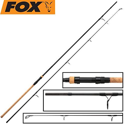Fox X3 Horizon cork handle 12ft 3lb - Karpfenrute zum Ansitzangeln auf Karpfen, Grundrute für Karpfenmontagen, Angelrute