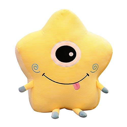 Home Plush Cute Toy Soft Little Devil Star Moon Sky Style Pillow, Plush, Toys and Hobbies (As Shown)