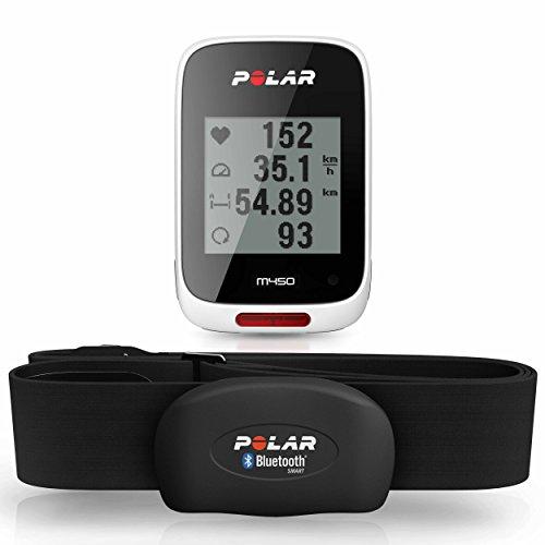 POLAR(ポラール) M450 HR ホワイト(GPS内蔵・心拍センサー付)【日本語対応/日本正規品】 90055543