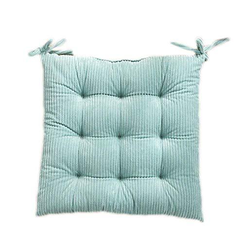 Monbedos Zitkussen, 1 stuks, bonbonkleurig, zitkussen, mat voor stoel, sofa, zitkussen voor buiten, gestoffeerd, zitkussen blauw
