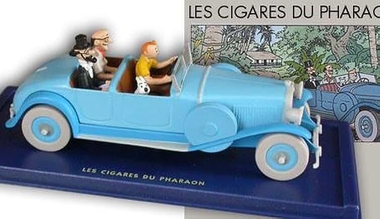 Tintin - Atlas - En voiture Tintin - 05 - Les Cigares du Pharaon, la Lincoln Torpedo