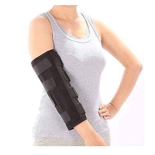 Elbow Brace Splint Arm Ulnar Nerve Cubital Tunnel Syndrome Brace Elbow Immobilizer Adult Tennis Arm Stabilizer PM Night Splint Radial Nerve Sleep Restraints Wrap (Medium)
