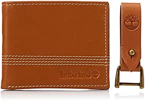 Timberland Men's Leather Slimfold Wallet