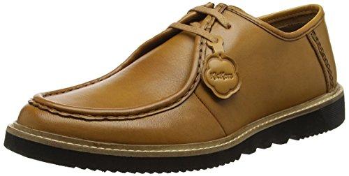 Kickers Kwamie Lo MOCC, Zapatos de Cordones Derby para Hombre, Marrón (Tan Tan), 45 EU