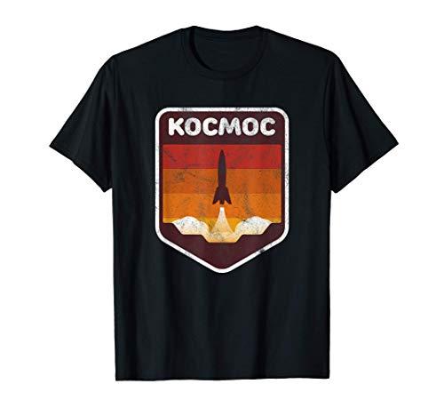 Fusée spatiale Cosmos en langue russe T-Shirt
