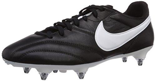 Nike Herren The Premier SG Fußballschuhe, Schwarz (Black/Summit White-orange Blaze), 43 EU