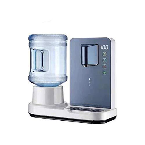 Z-Color Dispensadores de Agua Caliente de Agua de la Mesa, con termostato de hervidor rápido, Ajustable, Ideal para la Cocina para el hogar y la Oficina de Hacer té de café (Color : Blue)