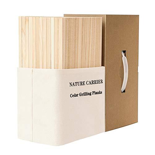 12 Pack Premium Cedar Planks for Grilling Salmon & Fish...
